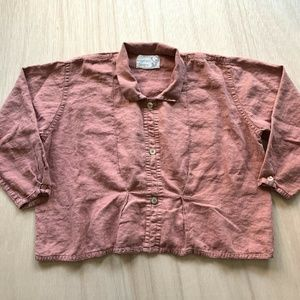 Angle Heart designs By Flax Linen Casual Shirt LRG